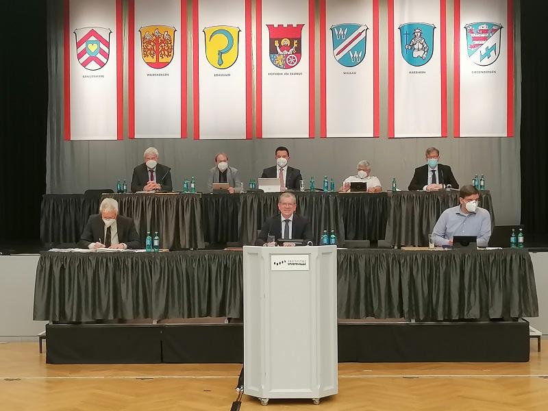 Die Stadtverordneten Vorsitzdener