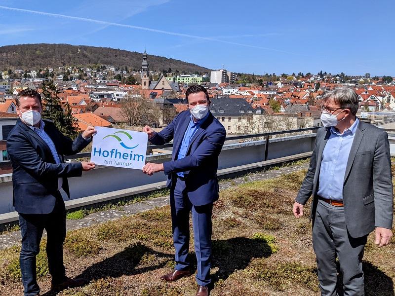 Präsentation des neuen Logos der Stadt Hofheim