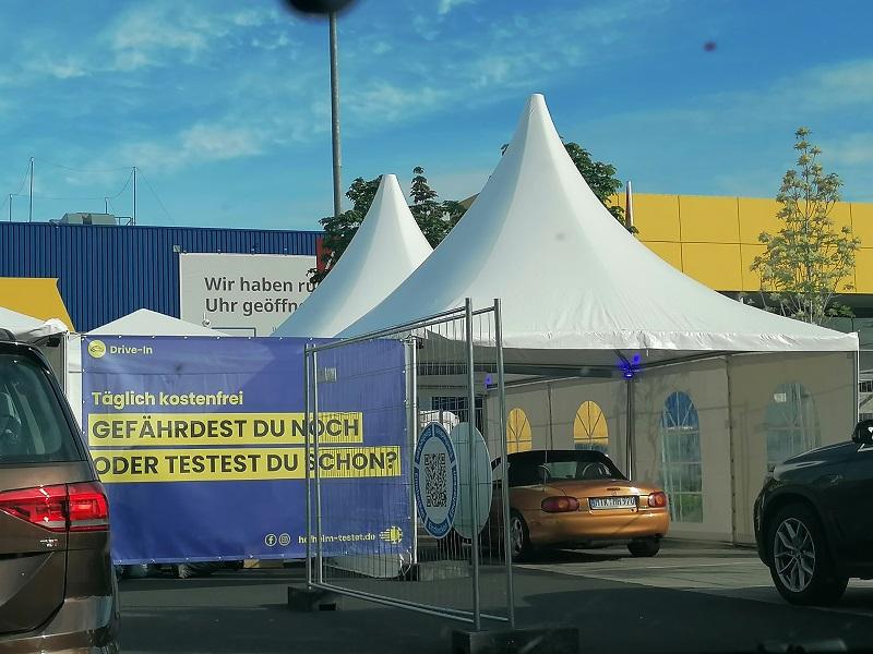 Drive-in-Test-Center IKea Wallau