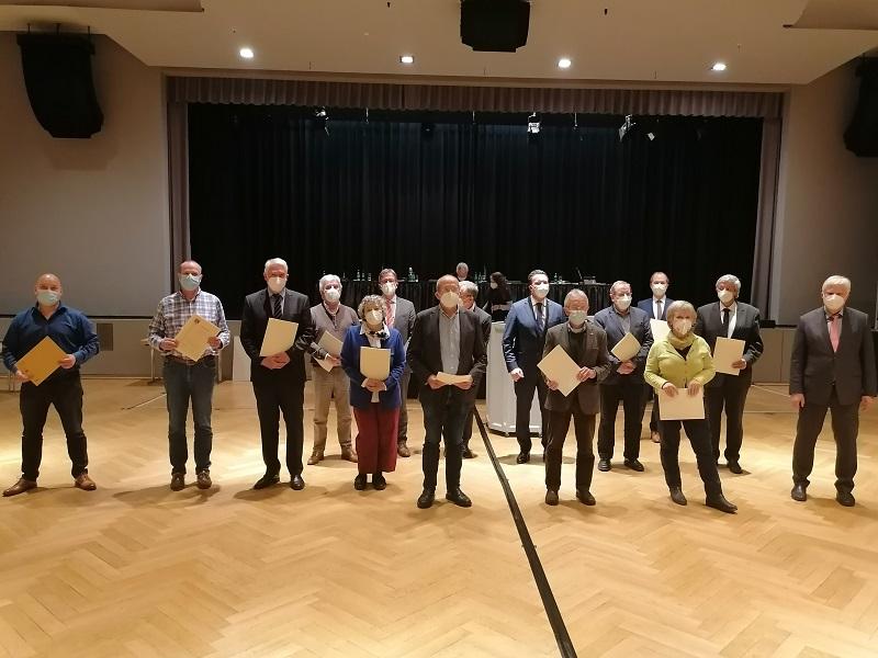 !3 neue Stadträte wurden in Hofheim vereidigt.