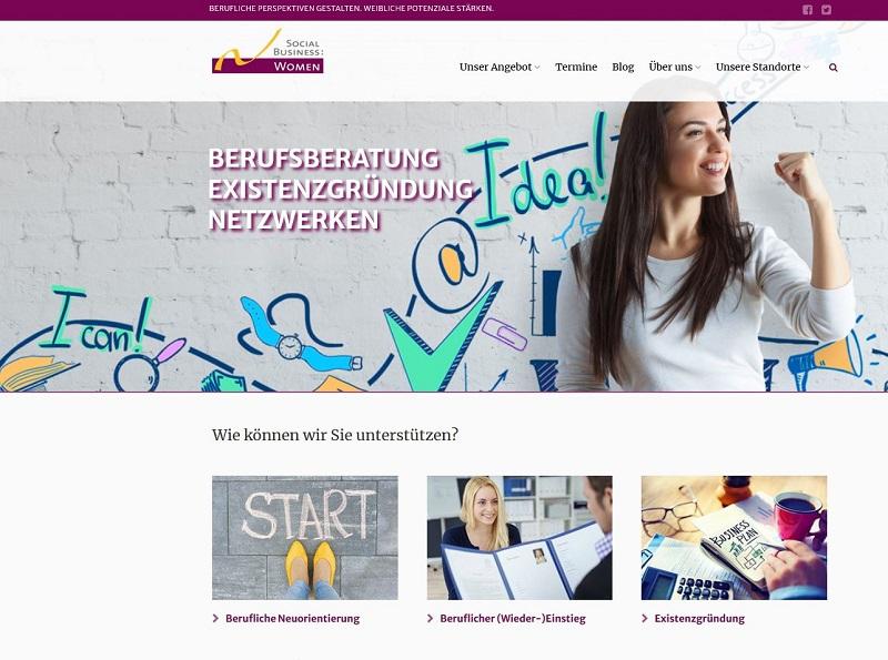 Förderung von Frauen bei berufliche Neuorientierung