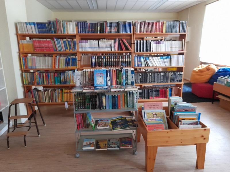 Es geht wieder los in der Wallauer Stadtteilbücherei