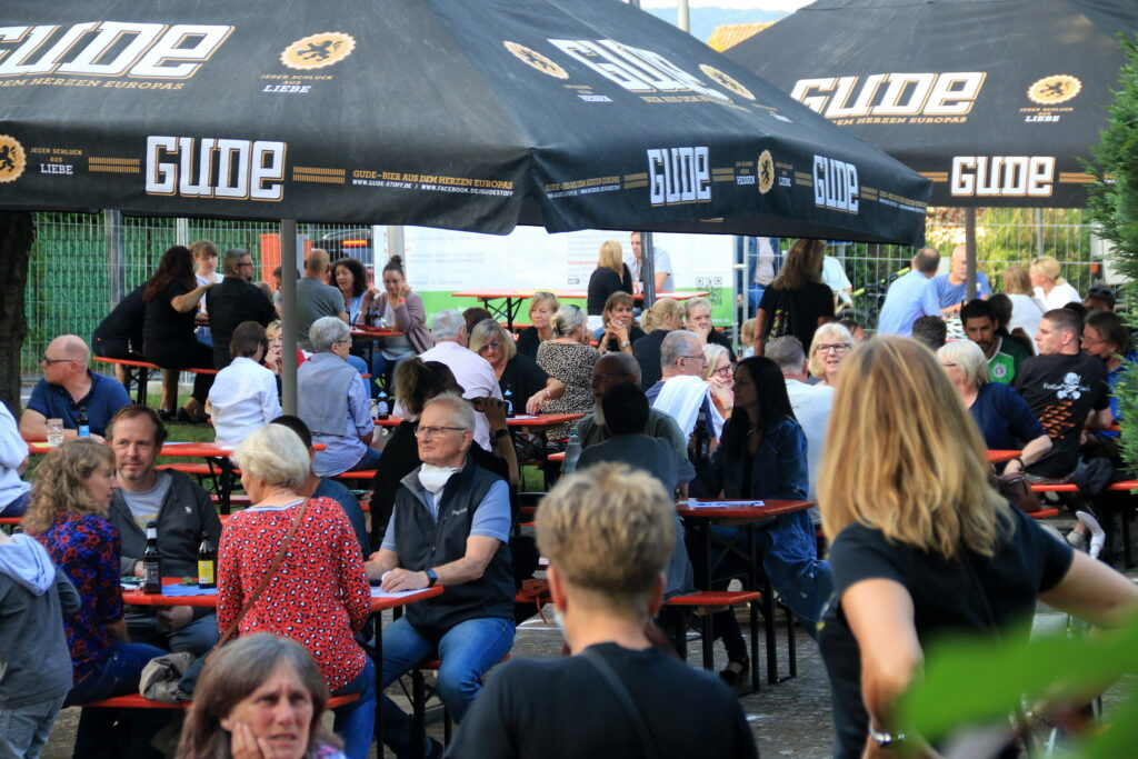 11 Biersorten konnten die Gäste beim Bierstand on Tour verkosten