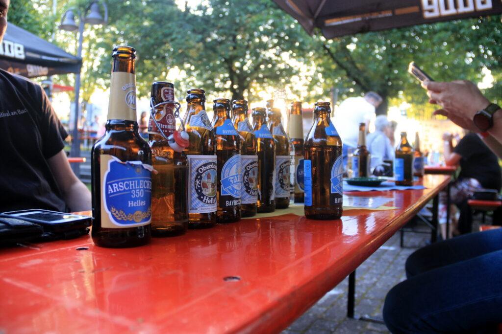 Verschiedene Biersorten wollen am 7. August verkostet werden.