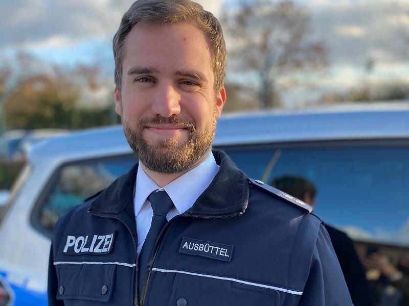 Die Polizei hilft vor Ort