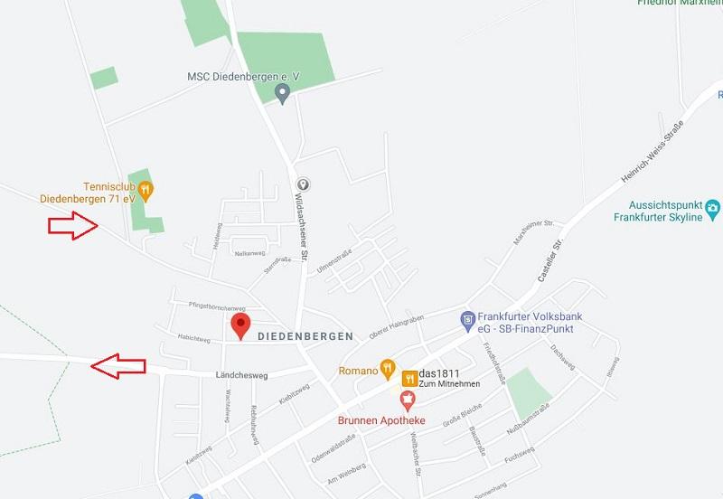 Achtung Eichenprozessionsspinnernester in Hofheim.
