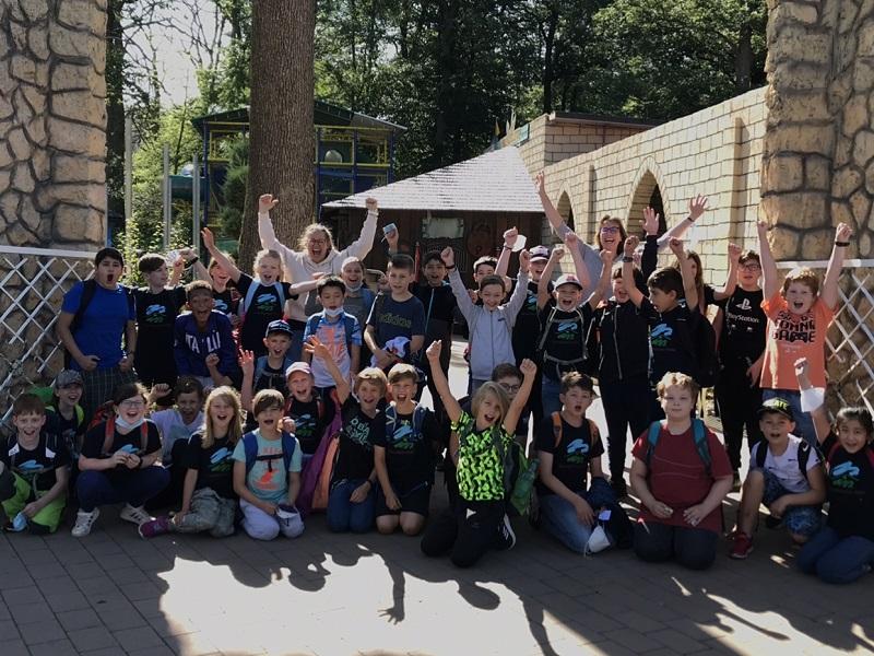 Spaß im Taunus Wunderland hatten die Kinder der Wallauer Taunusblick-Schule.